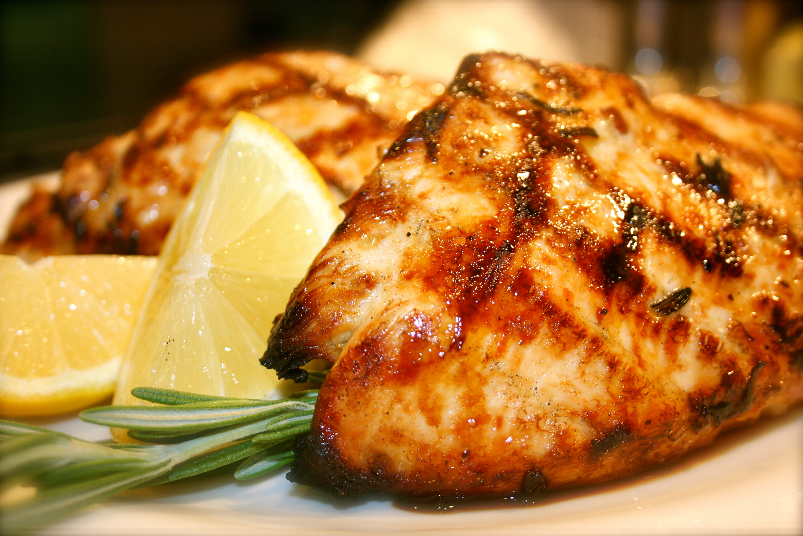 Grilled Lemon Chicken | 4plates2table