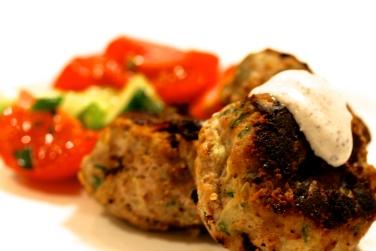 Jersusalem turkey burgers 2